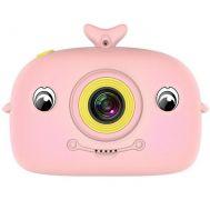 Επαναφορτιζόμενη παιδική κάμερα δελφινάκι ροζ OEM SD310