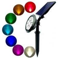 Χριστουγεννιάτικος Αδιάβροχος Ηλιακός Προβολέας Laser 7 in 1 εξωτερικού χώρου RGB 6W OEM IN3-A010