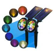 Ηλιακός Προβολέας Πολύχρωμος 7 in 1 εξωτερικού χώρου OEM IN3-A020