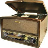 Πικάπ vintage με Ράδιο-CD-USB-CASSETTE Roadstar HIF 1937 TUMPK