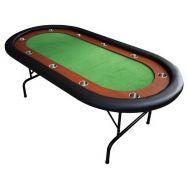 Τραπέζι Πόκερ Oval Με Τσόχα 213x106cm Supergifts Vag Elegance