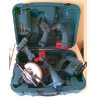 Σέτ πέντε επαναφορτιζόμενων εργαλείων βαλίτσα  KRAFT WELLE GERMA