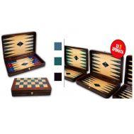 Τάβλι - σκάκι καπλαμάς χρωματιστός με επένδυση 50x50x7cm