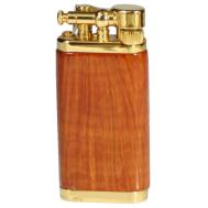 Αναπτήρας Corona Gold Plated Natural Briar Old Boy 64-5009