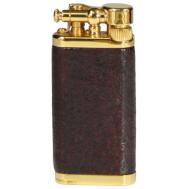 Αναπτήρας Corona Gold Plated Sand Blast Briar Old Boy 64-5003