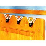 Κρεμάστρες πόρτας μεταλλικές σε ΣΕΤ 3 Τεμαχίων RUCO V-220