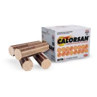 Οικολογικά κούτσουρα μπριγκέτες 100% ξύλο οξυάς 20 kg CALORSAN