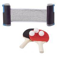 Αναδιπλούμενο και Ρυθμιζόμενο Σετ Πινγκ Πονγκ Retractable Ping Pong Table Tennis Set
