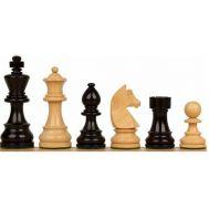 Πιόνια για σκάκι πλαστικά μπεζ–μαύρα 70mm SuperGifts