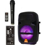 Ασύρματο Φορητό Ηχείο Bluetooth Ηχείο 10W με /TF/Ράδιο/Karaoke μικρόφωνο CMIK MK-B26