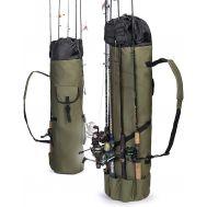 Σάκος Θήκη μεταφοράς 5 καλαμιών ψαρέματος 124x34cm Portable Fishing Rod Besti B07