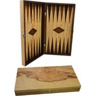 Τάβλι από Ξύλο Ελιάς 38 x 38cm με Πούλια Ελιάς SuperGifts 400400