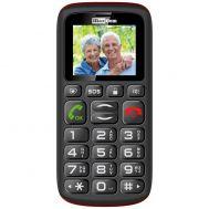 Κινητό για Ηλικιωμένους με Ελληνικό Μενού - Μεγάλα Πλήκτρα - Κουμπί SOS - Άμεση Ειδοποίηση σε 5 αριθμούς - Ανοιχτή Ακρόαση - 2 Κάρτες SIM - Αυτονομία 10 Ημερών V708