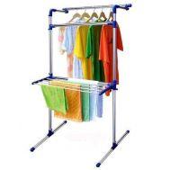 Πολυχρηστική κρεμάστρα απλώστρα ρούχων 147x7x78cm Folding Laundry Drier