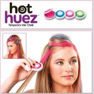 Βαφή μαλλιών - φλασάκια σετ 4 χρωμάτων Hot Huez