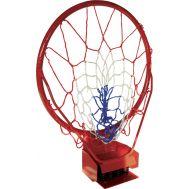 Στεφάνι μπάσκετ σπαστό μεταλλικό με ελατήρια, φ45cm, Amila 49194