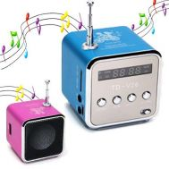 Mini MP3 Player - Fm Radio Aluminum Speaker