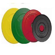 Δίσκοι Άρσης Βαρών πλαστικοί με γέμιση τσιμέντο 2,5 Kg MDS Ceme