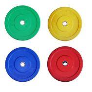 Δίσκοι Άρσης Βαρών με πλαστική χρωματιστή επένδυση 1,25 Kg MDS C