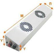 Ενισχυτής θέρμανσης 56 cm μετατρέπει τα σώματα καλοριφέρ σε αερόθερμα Ecohot
