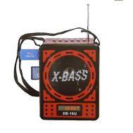 Φορητό Mp3 player/radio με ηχείο 1.5w WAXIBA XB-16U