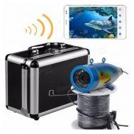 Υποβρύχια κάμερα για ψάρεμα με καλώδιο 50m - Βλέπει στο σκοτάδι - Εικόνα στην οθόνη του κινητού σας μέσω WIFI - Δυνατότητα σύνδεσης έξτρα monitor
