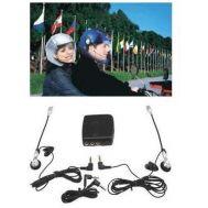Σύστημα ενδοεπικοινωνίας  μοτοσυκλέτας με 2 μικρόφωνα & MP3 player ενσύρματο OEM ESY1