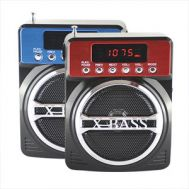 Ραδιόφωνο ψηφιακό MP3 Player USB/SD card - FM Radio - Clock - Speaker 3W KEMAI MD-99U
