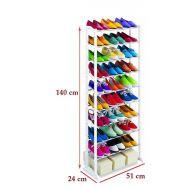 Παπουτσοθήκη – Stand 10 ραφιών  για Αποθήκευση 30 Ζευγαριών Παπουτσιών T-612