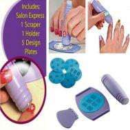 Σετ για στάμπες στα νύχια  Salon Express Nail Art Stamping Kit