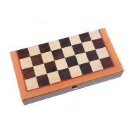 Κλασσικό τάβλι - Σκάκι τύπου καφενείου 48 Χ 50 cm με πλαστικά πούλια TSX-1CV