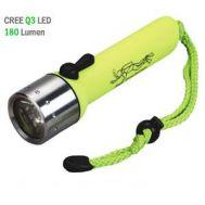 Καταδυτικός φακός 180 lumens CREE Q3 LED FLASHLIGHT DIVING