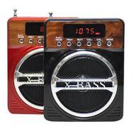Φορητό επαναφορτιζόμενο MP3 player / radio με ηχείο X-BASS Kemai-86UK