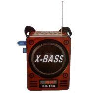 Φορητό Mp3 player / radio με ηχείο 1.5w X-BASS WAXIBA XB-18U