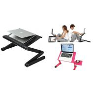 Πτυσσόμενο Τραπεζάκι Laptop με 2 Ανεμιστήρες Ψύξης & Βάση για Χρήση του Mouse Pad Smart Foldable Τ8