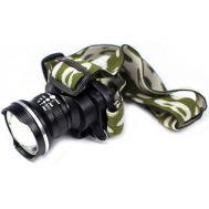 Ισχυρός Φακός LED ΖΟΟΜ Κεφαλής Επαναφορτιζόμενος 500LM - BL6807