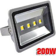 Προβολέας LED Slim 200W – Αδιάβροχος Υψηλής Απόδοσης 80% Οικονομία IP65