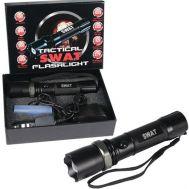 Φακός επαναφορτιζόμενος με LED SWAT Cree 10000W