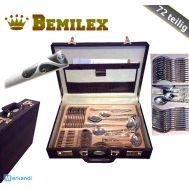 Μαχαιροπήρουνα σετ 72 τεμ. σε Δερμάτινη Τσάντα BEMILEX GERMANY
