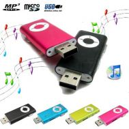 Mini Portable Mp3 Player microSD - USB Memory Stick