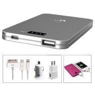 Πλήρες Σετ Φόρτισης & Ultra Thin USB Power Bank - Φορητή Μπαταρία 5.000mAh για Smartphones & iPhone 4/5 - CVK Tech - iPower23A