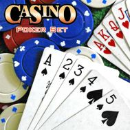 Σετ Τράπουλα με 24 Μάρκες Casino Poker