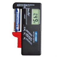 Ελεγκτής μπαταριών 1.5V και 9V με οθόνη ακριβείας OEM 102495