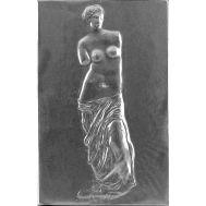 Ανάγλυφος πίνακας χειροποίητος 14Χ22 cm απο αλουμίνιο θέμα η ΑΦΡΟΔΙΤΗ ΤΗΣ ΜΗΛΟΥ