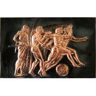 Ανάγλυφος πίνακας χειροποίητος 14Χ22 cm θέμα ΔΡΟΜΕΙΣ