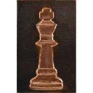 Ανάγλυφος πίνακας χειροποίητος 14Χ22 cm θέμα ΒΑΣΙΛΙΑΣ ΣΚΑΚΙ