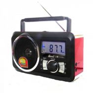 ​Φορητό Ραδιόφωνο FM & Music Player - Recorder with USB/SD card Speaker FP-910-RC