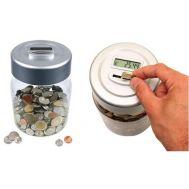 Κουμπαράς με ψηφιακό μετρητή κερμάτων ευρώ