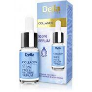 Ορός 100% Serum Προσώπου με κολλαγόνο Serum Collagen Delia Cosmetics