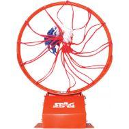 Στεφάνι μπάσκετ σπαστό μεταλλικό μασίφ με ελατήρια, φ45cm, Amila 42889